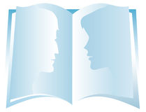 Book. Open book Vector Illustration