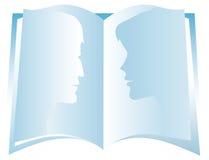 Book. Open book Stock Photo