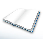 Book. Open book isolated on a white background vector illustration