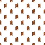 Book ajar pattern seamless. In flat style for any design Stock Photo