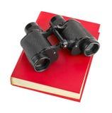 Book And Binoculars Stock Image