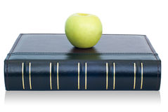 Book and apple Royalty Free Stock Image