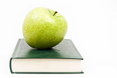 Book and apple Royalty Free Stock Photo