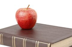 Book and Apple Stock Photos