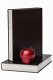 Book and apple Stock Photo