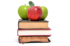 Book Apples Royalty Free Stock Image