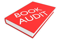 Book Audit concept Stock Photography
