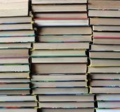 Book background. Library. Royalty Free Stock Photo
