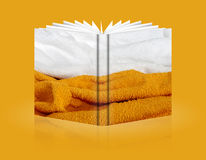 Book of background sponge Royalty Free Stock Photo