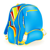 Book Bag. Illustration of school bags, isolated object Royalty Free Stock Image
