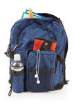 Book Bag and MP3 Stock Photography