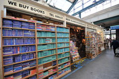 Book bazaar in Cardiff Royalty Free Stock Image
