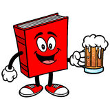 Book with Beer Royalty Free Stock Photo