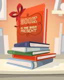 Book is the best present Stock Images