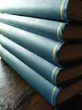 Book Binding. A stack of books Royalty Free Stock Photo