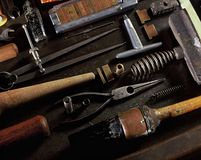 Book Binding Tools Stock Image