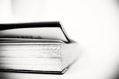 Book. Black and white Royalty Free Stock Photography
