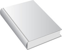 Book with blank cover.Vector. Royalty Free Stock Photo