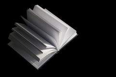 Book with blank pages Stock Images