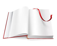 Book with blank pages Stock Photos