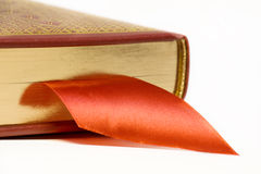 Book and Bookmark Stock Image