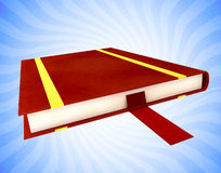Book with bookmark Royalty Free Stock Photo