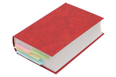 Book with bookmarks Royalty Free Stock Photography