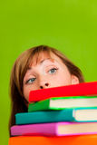 Book books study girl Royalty Free Stock Images