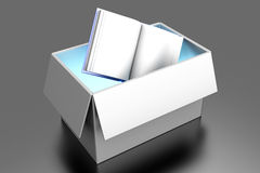 Book in a Box Stock Image