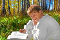 book boy Στοκ Φωτογραφίες