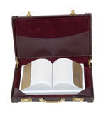 Book in a Briefcase Royalty Free Stock Photos
