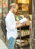 Book browsing Stock Images