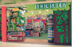 Book Buddy shop in hong kong Stock Images