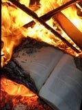 Book burning Royalty Free Stock Photography