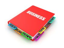 Book about business Stock Images