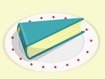 Book cake Royalty Free Stock Images