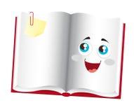 Book cartoon Royalty Free Stock Photography