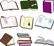 Book cartoon icons Stock Photos