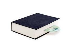 A book and a CD rom Stock Images