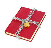 Book and chain Royalty Free Stock Images
