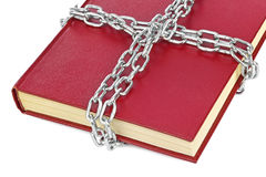 Book and chain Royalty Free Stock Image