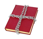 Book and chain Stock Photo