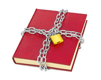 Book and chain Stock Photos