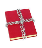 Book and chain Stock Images
