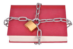 Book in Chains Royalty Free Stock Photo