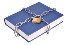 Book in Chains Stock Images