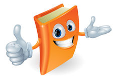 Book character illustration Stock Photography