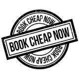 Book Cheap Now rubber stamp Royalty Free Stock Photo