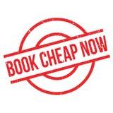 Book Cheap Now rubber stamp Stock Photos