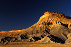 Book Cliffs. Grand Junction and the Book Cliffs Stock Image